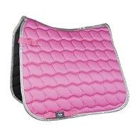 HKM Zadeldek Premium Dressuur roze/Zilver