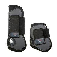 HKM Tendon And Fetlock Boots Genua Grey/Black