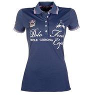 Lauria Garrelli Poloshirt Santa Rosa Donkerblauw