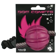 Dog Comets Halley Pink with rope Roze