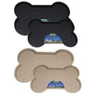 Bella Bowl Bella Spill-proof Dog Mat Black