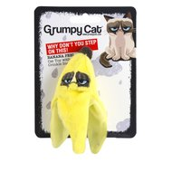 Grumpy Cat Banana Peel Catnip/Crinkle Toy