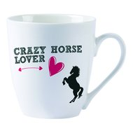 Red Horse Mok Paard Zwart