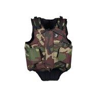Horka Flexplus Bodyprotector Adult Camouflage Groen