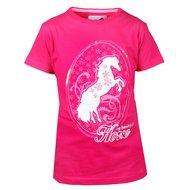 Red Horse T-Shirt mit Pferdemotiv Flamingo