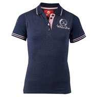 Red Horse Poloshirt Filly Night Blue
