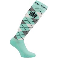 HV Polo Socken Argyle Pool Blue