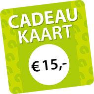 Agradi Cadeaukaart € 15
