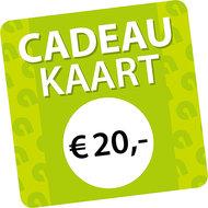 Agradi Cadeaukaart € 20