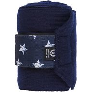 Imperial Riding Bandage Star Icon Navy Full
