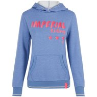 Imperial Riding Hoodie Sweater Royal Blue Breeze Melange