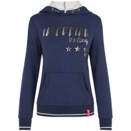 Imperial Riding Hoodie Sweater Royal Navy Melange