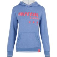Imperial Riding Hoodie Sweater Royal Blue Breeze Melange