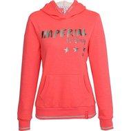 Imperial Riding Hoodie Sweater Royal Diva Pink Melange