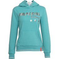 Imperial Riding Hoodie Sweater Royal Turquoise Melange