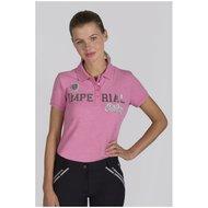 Imperial Riding Poloshirt Girly Diva Pink Melange