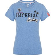Imperial Riding T-Shirt Fancy Imperials Blue Breeze Melange