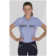 Imperial Riding Poloshirt Girly Blue Breeze Melange