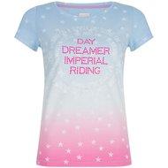 Imperial Riding T-shirt Silverstar Blue Breeze