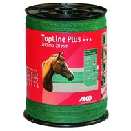 Ako Fencing Tape Topline Plus Green 20mm 200m