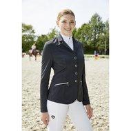 Covalliero Wedstrijdjas Samantha Dames Zwart/Grijs