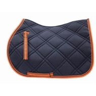 Loveson Saddle Pad Navy/Orange