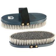 Pfiff Body Brush Shield Logo Blue