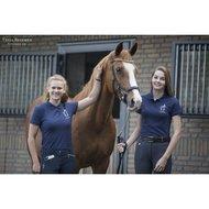 Paard Zoekt Baas Polo met Logo Navy