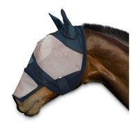 Chetaime Vliegenmasker met oren en afritsbare neus Zwart/Beige