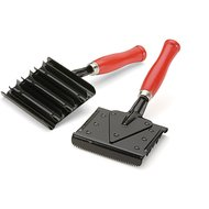 Shires Jointed Curry Comb Metal