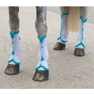 Shires Fly Turnout Socks White