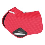 Performance by Shires Jumping Saddle Cloth   Deep Red Full