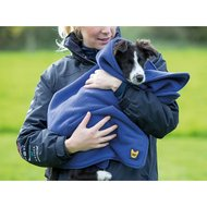 Digby & Fox Handtuch Hund Navy