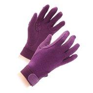 Shires Handschoenen Newbury Kinderen Purple