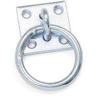 Shires Krawattenring Versilbert Metall