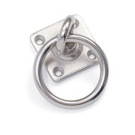 Shires Draaibare Vastzet Ring Metal