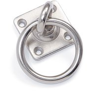 Shires Swivel Tie Ring Metal