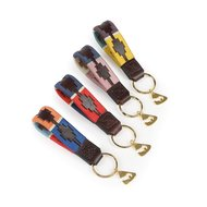 Aubrion Sleutelhanger Polo Rood/Navy One Size