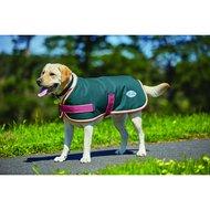 Weatherbeeta Parka Dog Coat 1200D Teal/Cerise/Yellow