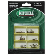 Mitchell Acc. Live Bait Hooks Assorted In Polybox