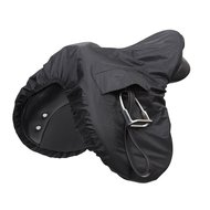 Shires Saddle Cover Waterproof Ride On Black