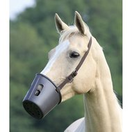 Shires Muilkorf Plastic Brown One Size