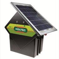 Koltec Solarset mit Solarmodul 10W