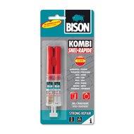 Bison 2-componentenlijm Kombi Snel Transparant 24ml