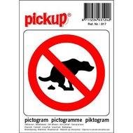 Pickup Pictogram geen Hondenpoep