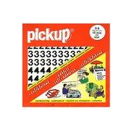 Pickup Helvetica Plakcijfers 0-9 Wit