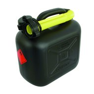 Carpoint Benzinekan Zwart, Gele Schenktuit 10L