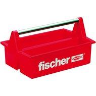 Fischer Gereedschapskoffer Rood 35.5x23x12cm