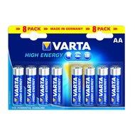 Varta High Energy Alkaline Penlite Batterij 8st AA