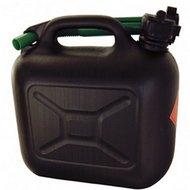 Agradi Benzinekan Zwart, Groene Schenktuit 5L